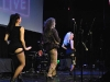 Dave Callan and his fabulous dancers, Chrissie and Elizabeth